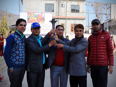 Nepal 15 February: Pokhara | The Sri Chinmoy Oneness-Home Peace Run