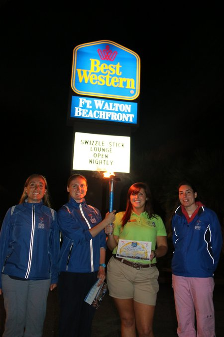 Fort Walton Beach (FL) United States  City pictures : Thank you so much to the Fort Walton Best Western for accomodating the ...