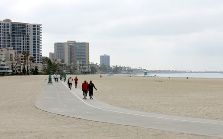 Bike Path Long Beach Ca The Best Beaches In World