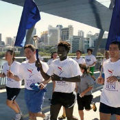 Sri Chinmoy Oneness-Home Peace Run organizers