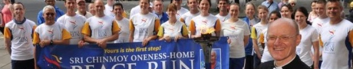 Peace Run York Minster